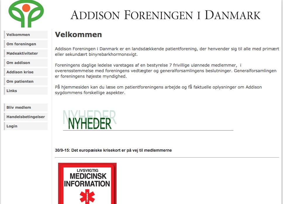 Addison Foreningen i Danmark