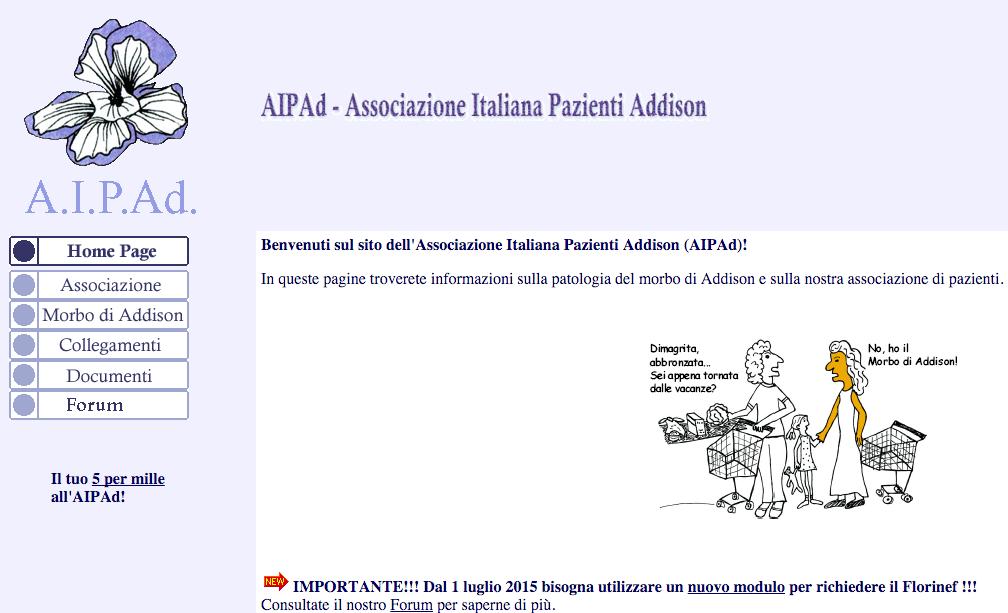 Associazione Italiana Pazienti Addison A.I.P.Ad.
