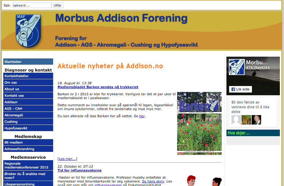 Morbus Addison Forening Norge