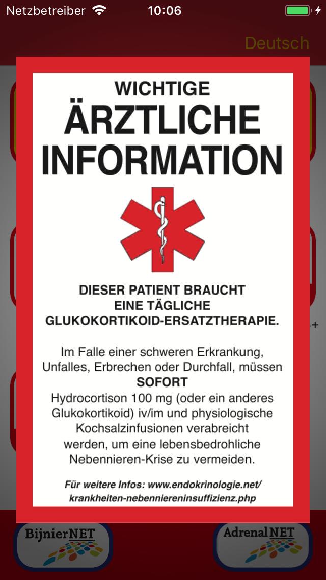 ADRENAL-APP - Adrenals.eu/de